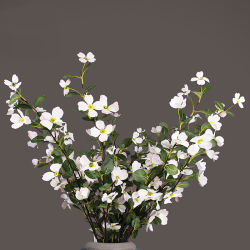China artificial white flowers artificial white flowers silk cloth two forked medlar flowers artificial flower white fake flower medlar artificial flower mightylinksfo