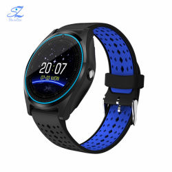 V9 Sport Smart Watch with Camera TF SIM Card Pedometer MP3 Clock Sport Android Smartwatch