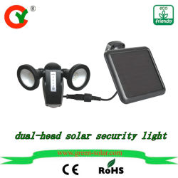 Solar DC Powered PIR Motion Sensor Light Free Sample New Outdoor LED Energy Lamp for Pathway Wall Home Road Villa Yard Street Garden Factory Sell Low Price