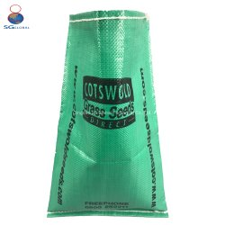 SGS CE FDA Colorful Print Customized Logo 50kg White PP Woven Fabric Sheet Packaging Plastic Sack Packing Flood Sand Feed Fertilizer Rice Sugar Flour Bag