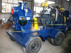 Mobile Diesel Engine Storm Dewatering Water Pump (10 inch)