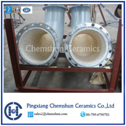 China Ceramic Tile for Lining Elbow Pipe Supplier Offer