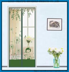 2017 Magic Curtain Door Mesh Magnetic Fastening Hands Free Mosquito Nets for Doors