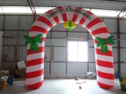 Inflatable Entrance Arch / Outdoor Christmas Decoration Inflatable Arch