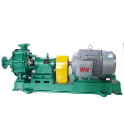 High Quality Corrosion/Wear Resistance Fluoroplastic Lined Acid Slurry Pump