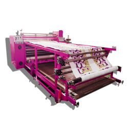 Automatic Oil Heating Roller Sublimation Fabric Heat Transfer Press Printing Machine