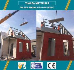 Rcb Syestem Steel Structrue with AAC Panels Sample House