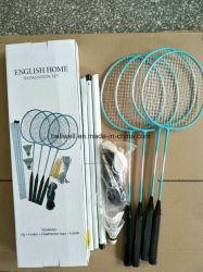 Outdoor Beach Badminton Racquets Set with Net