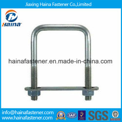 Best Price Carton Steel with Zinc Plated Square Head Ubolt