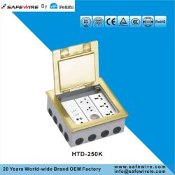 Hot Sales Brass Alloy Open Type Floor Boxes