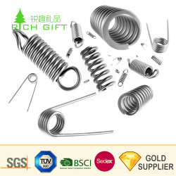 Manufacturer Customized Wire Forming Clip Tension Extension Torsion Coil Compression Spring Mould Precision Metal Auto Power Steel Spiral Constant Force Spring