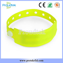 RFID Em4200 One Time Use Hf UHF Paper RFID Wristbands for Hospital Patient Identification and Management