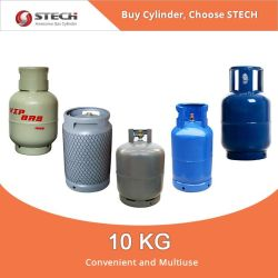 Refillable Portable 10kg LPG Gas Cylinder for Africa Use