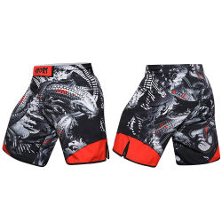 Make Your Own MMA Fight Shorts Wholesale Mens Training Sportswear