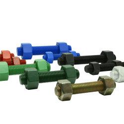 9/16 ASTM A193 B7 B8 B8m Gr B16 PTFE Stud Bolt Thread Rod