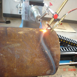 Multi-Axis Cutting & Beveling CNC Plasma Cutting Machine for Metal Pipes