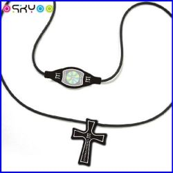 Custom Power and Balance Silicone Sports Necklace (P5208)