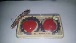 Natural Handmade Cake Design Soap for Display
