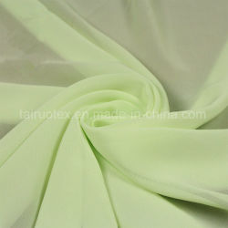 100% Polyester Silk Chiffon Fabric for Lady Dress Fabric
