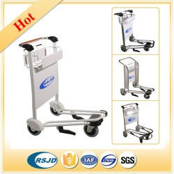 Airport Passenger Baggage Luggage Shopping Cart Trolley with Brake