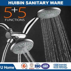 24-Setting Ultra-Luxury 3 Way Head Shower Hand Shower Shower Set