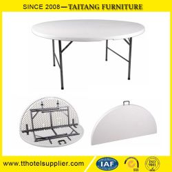 Charmant China Wholesale 5FT 60inch Round Plastic Folding Dining Table For Events,  Wedding, Banquet,