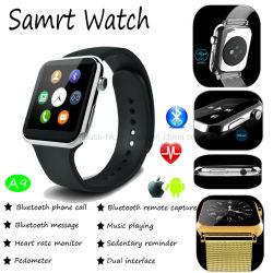 Multi-Language Smart Watch with Heart Rate & ECG Monitoring A9