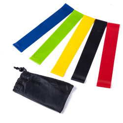 Home Yoga Sports Outdoor Foam Gym Fitness Exercises Equipments Workout Best Resistance Band Set