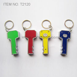 Key Shaped LED Key Chain Light (T2120)