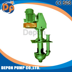 High Pressure High Efficiency Submerisble Vertical Sump Slurry Pump for Mining