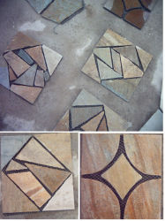 Natural Grey Black, Green, Rusty Slate for Wall Cladding & Flooring