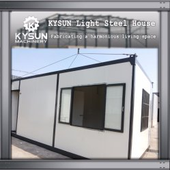 Galvanized Steel Frame Modular Prefab Prefabricated Container House