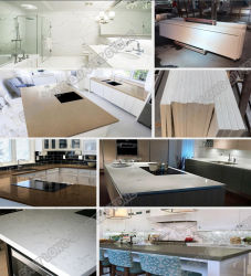 New Designed Building Material Quartz Countertops Price for Solid Surface