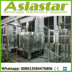 Plastic Bottle Fruit Juice Making Processing Filling Machine