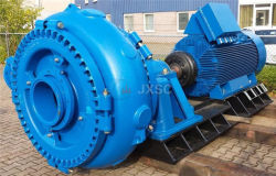 8X6e-mAh Single-Stage Centrifugal Slurry Gravel Pump for Gold Sand Mining