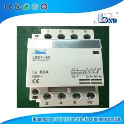 China mini ac contactor mini ac contactor manufacturers suppliers lnc1 2 poles 63a ac mini household modular contactor asfbconference2016 Choice Image
