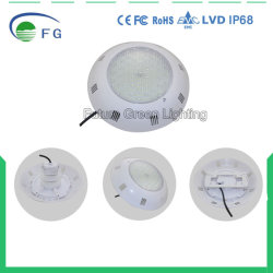 18W IP68 Flat Resin Filled Wall Mounted LED Underwater Swimming Pool Lamp