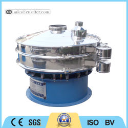 Round Vibrating Screen Sifting Machine for PE Granules Separating
