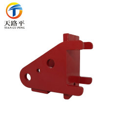 OEM Custom Made Auto Parts, Precise Cast Forged and CNC Machined Stainless Steel /Aluminum/Zinc /Brass Forklift Truck Parts with Painting