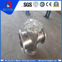 Ce Certification Permanent/Iron Slurry Magnetic Separator for Chemical Industry