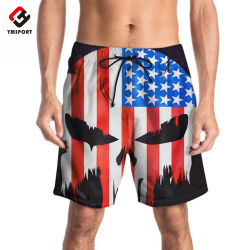 e561ef33dfea4 Factory OEM Sublimation Custom Printed Swimming Trunks Men Board Shorts