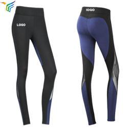 757e34159dc45 Wholesale Cheap Custom Sexy Black Girl in Spandex Mesh Leggings Yoga Pants