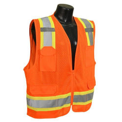 High Visibility Safety Workwear Protective Vest