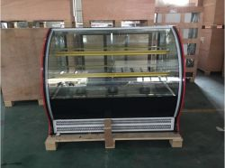 Commercial Cake Showcase with Curved Glass (G760A-W)