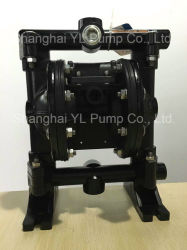 Low Air Consumption Concrete Al Pneumatic Diaphragm Pump