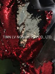Double Side Sequins Embroidery Fabric