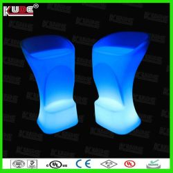 LED Glow Bar Chairs with Remote Control for Events/ Nightclub/ Wedding