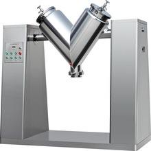 V-Type High Efficiency with Feeder Powder Mixer Blender Mixing Machine