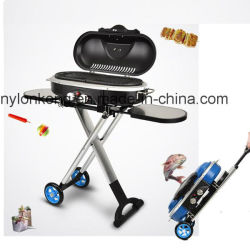 2018 New Style Super Cool Outdoor And Indoor Non Smoke Portable Gas Bbq Grill Foldable