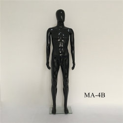 Wholesale Cheap Glossy Stand PP Male Gender Mannequin Model
